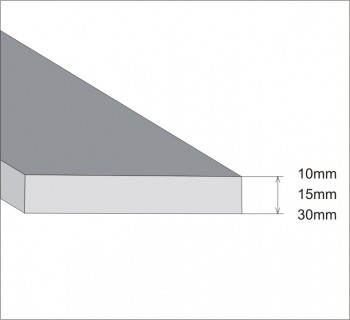 Blade of the folding beam 10mm, 15mm, 30mm